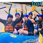 Rafting with Jose