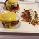 Delicious and rich Crab Benedict