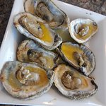 chargrilled oysters - one of 2 plates