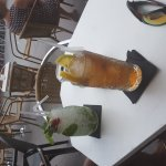 Mojito and long island ice tea at Soul BarCafe, Corralejo, Fuerteventura