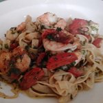 Linguine with Shrimp....very yummy!