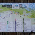Fox Glacier Hiking Trails, Old Map