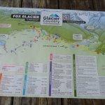 Fox Glacier Hiking Trails, New Map
