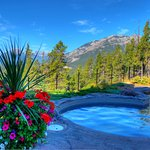 Outdoor Hot Pool with view
