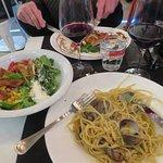 my salad and pasta