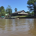 Big Pine Lodge is within paddling distance - what a treat!