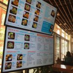 Big screen menus