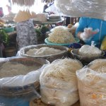 A visit to a noodle factory, along the Mekong River