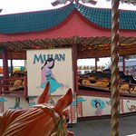 Mulan from the Carousel