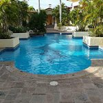 """The 10th Floor pool or """"secret pool""""."""