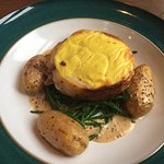 Belly Pork rarebit.