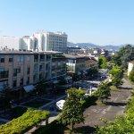 Vista dal nostro terrazzo (camera 408)