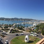 Our view of beautiful Ibiza