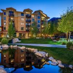 Enjoy a prime Teton Village location when you stay at Hotel Terra.