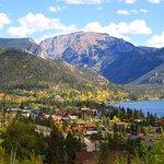 Grand Lake Colorado in the fall