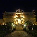 The Beautiful Palace at Night