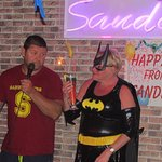 Another bat women Pauline on her Birthday party in Sanddancers