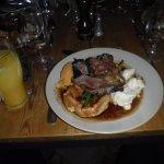 Sunday lunch - roast 'lamb'