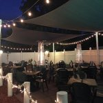 Join us for outdoor dining on our heated patio :)