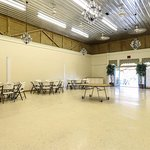 Dining Hall: Wedding and Event Center. Fully equipped kitchen, 2 restrooms and upstairs loft.
