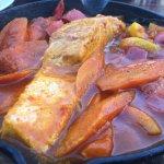 Alma - salmon in stew