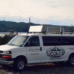 The Cove Adventure Tours van.