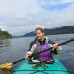 Beautiful day kayaking