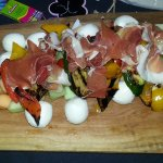 Antipasto platter! So good!