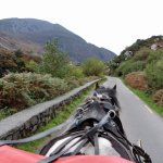 getting started on our Gap of Dunloe Tour...