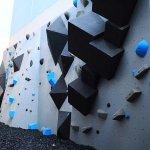 Climbing Wall at the Shorebreak