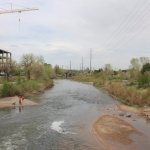 South Platte River - view from the 16th Street bridge