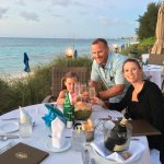 Dining in the dunes at Windsong
