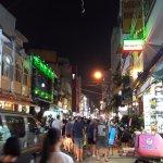 Pham Ngu Lao street scene.