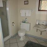Hancock House Doll Room Bathroom with Shower (3rd Floor)