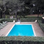 Chambre côté piscine