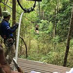 Gorgeous scenic views in the jungle with flowers I've never seen before.  Fun short obstacles co
