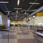 Inside the Virtu Ferries Terminal