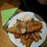 Fish & Chips, adult size.