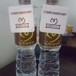 Complimentary water every day