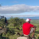 Quiet moments to allow the enormity of the views to The Great Rift Valley wall