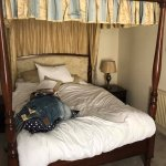 Room 1 - 4 poster bed