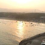 sunrise beach view
