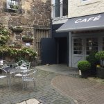 Beautiful courtyard to enjoy lunch or just coffee and cake