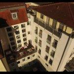 Hotel Kronprinz, Rückseite von oben