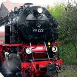 Train at Wernigerode waiting to start