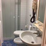 Bathroom - cramped but adequate