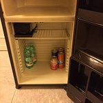 Mini bar on arrival - very poorly stocked