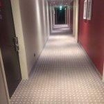 long way to elevator