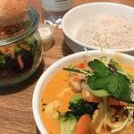 Curry Rouge avec des crevettes juste magnifique