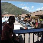 Vista desde el balcon del restaurante